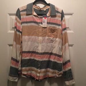 Roxy long sleeve blouse